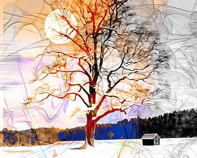 Photograph - Winter Sun by Edmund Nagele