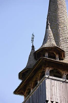 Wooden Church (biserica De Lemn Art Print by Martin Zwick