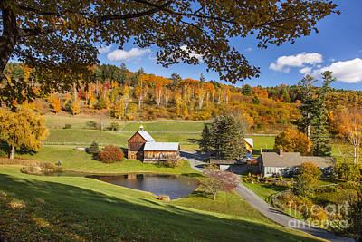 Photograph - Woodstock Vermont by Brian Jannsen