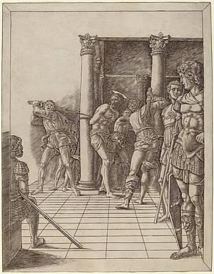 Workshop Of Andrea Mantegna Or Attributed To Zoan Andrea Art Print by Quint Lox