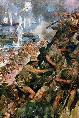 World War I Gallipoli, 1915 Art Print