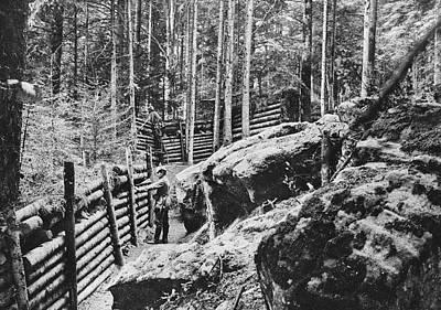 World War I German Trench Art Print