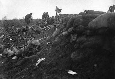 Ally Photograph - World War I Trench, C1916 by Granger
