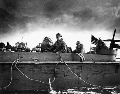 World War II: D-day, 1944 Art Print
