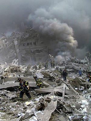 Photograph - Wtc Terrorist Attack by Steven Spak