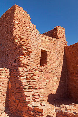 Photograph - Wukoki Pueblo In Wupatki National Monument by Fred Stearns