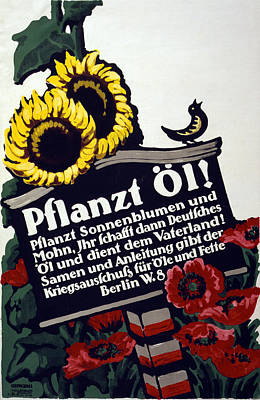 Painting - Wwi German Poster, 1916 by Granger