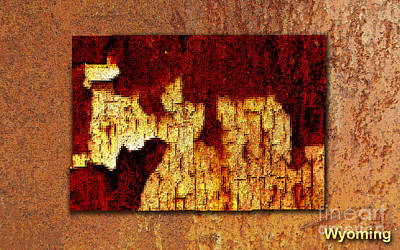 Image Mixed Media - Wyoming by Marvin Blaine