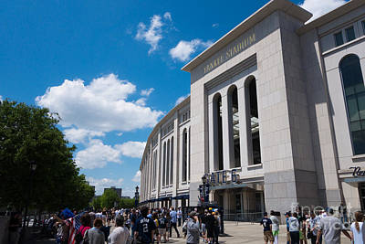 Baseball Royalty-Free and Rights-Managed Images - Yankee Stadium by Amy Cicconi