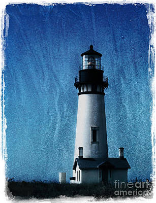 Photograph - Yaquina Head Lighthouse by Elena Nosyreva