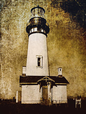 Dungeon Photograph - Yaquina Head Lighthouse - Oregon by Daniel Hagerman