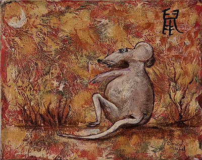 Painting - Year Of The Rat by Darice Machel McGuire