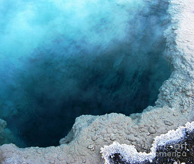 Yellowstone Blue Art Print by Patricia Januszkiewicz