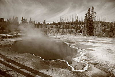 Photograph - Yellowstone Park by Frank Romeo
