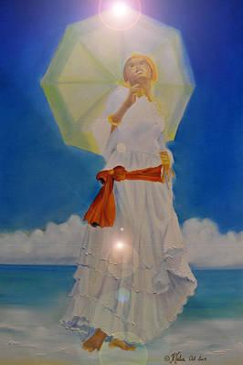 Yemaya Digital Art - Belle Creole   Yemaya I by KCatia Creole Art