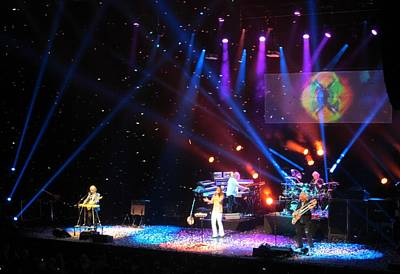 English Rock Groups Photograph - Yes In Concert by Donna Wilson