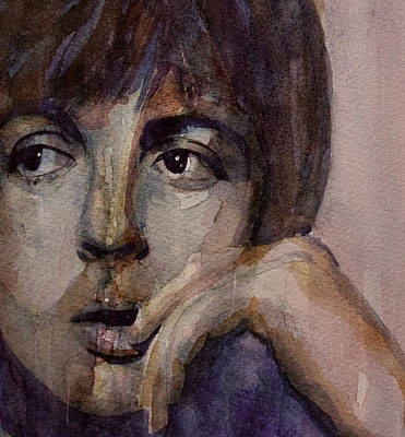 The Beatles Painting - Yesterday by Paul Lovering