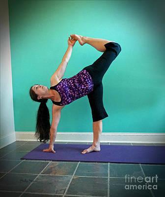 Photograph - Yoga Study 8 by Sally Simon