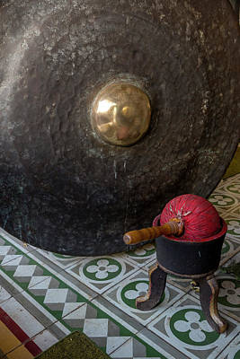 Gong Photograph - Yogyakarta, Java, Indonesia by Charles O. Cecil