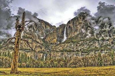 Photograph - Yosemite Falls by Maria Coulson