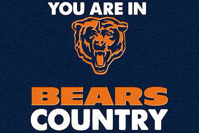 You Are In Bears Country Art Print by Celestial Images