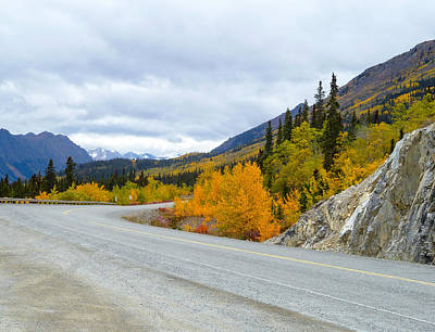 Photograph - Yukon Toward Alaska by David Nichols