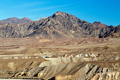 Photograph - Zabrinskie Point Death Valley National Park by Fred Stearns