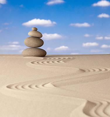 Photograph - Zen Meditation Stone by Dirk Ercken