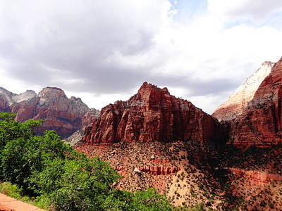 Photograph - Zion by Dan Sproul