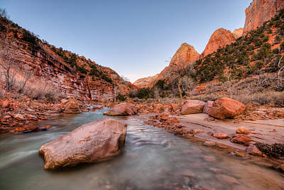 Nature Photograph - Zion National Park Series by Josh Whalen