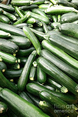 Coop Photograph - Zucchinis by Olivier Le Queinec