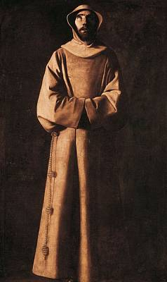Zurbaran, Francisco De 1598-1664. Saint Print by Everett