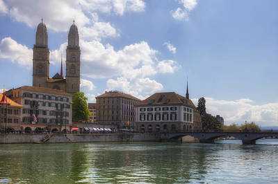 Zurich Photograph - Zurich by Joana Kruse
