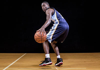 Photograph - 2014 Nba Rookie Photo Shoot by Nick Laham