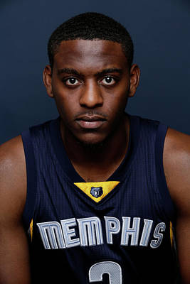 Photograph - 2014 Nba Rookie Photo Shoot by Steve Freeman