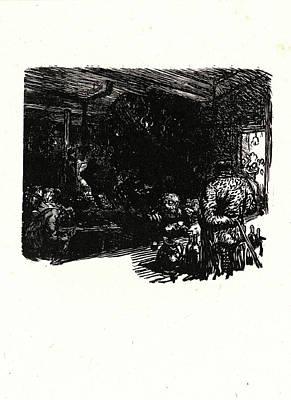 "Auguste Louis Lepère French, 1849 - 1918. Image From ""la Art Print"