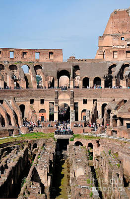 Photograph - Colosseum In Rome by George Atsametakis