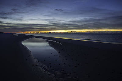 Digital Art - 20 Degree Beach Sunrise by Michael Thomas