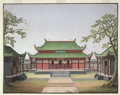 Architectural Elements Photograph - Honam Temple by British Library
