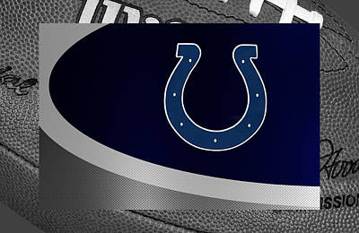 Indianapolis Photograph - Indianapolis Colts by Joe Hamilton