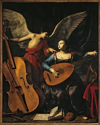 Lute Photograph - Italy, Lazio, Rome, National Gallery by Everett