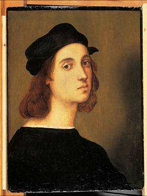 Self-portrait Photograph - Italy, Tuscany, Florence, Uffizi by Everett