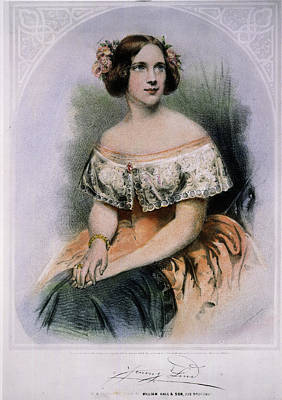 Jenny Lind (1820-1887) Art Print by Granger