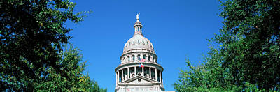 Austin Building Photograph - Low Angle View Of A Government by Panoramic Images