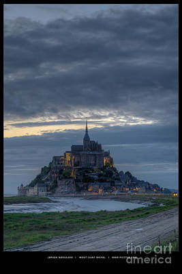 Photograph - Mont Saint Michel by Jorgen Norgaard