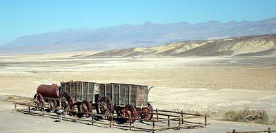Photograph - 20-mule Team Borax by Susan Woodward