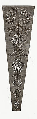 Needlework, 19th Century Embroidery Art Print
