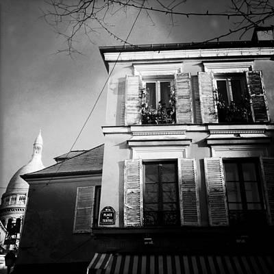 Paris - Montmartre Art Print by Vincent Leprince