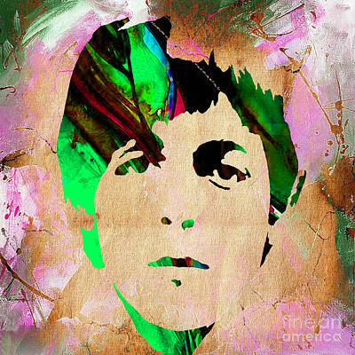Rock N Roll Mixed Media - Paul Mccartney Collection by Marvin Blaine
