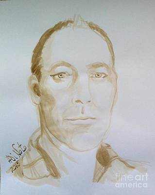Painting - Portrait by Alessandra Di Noto